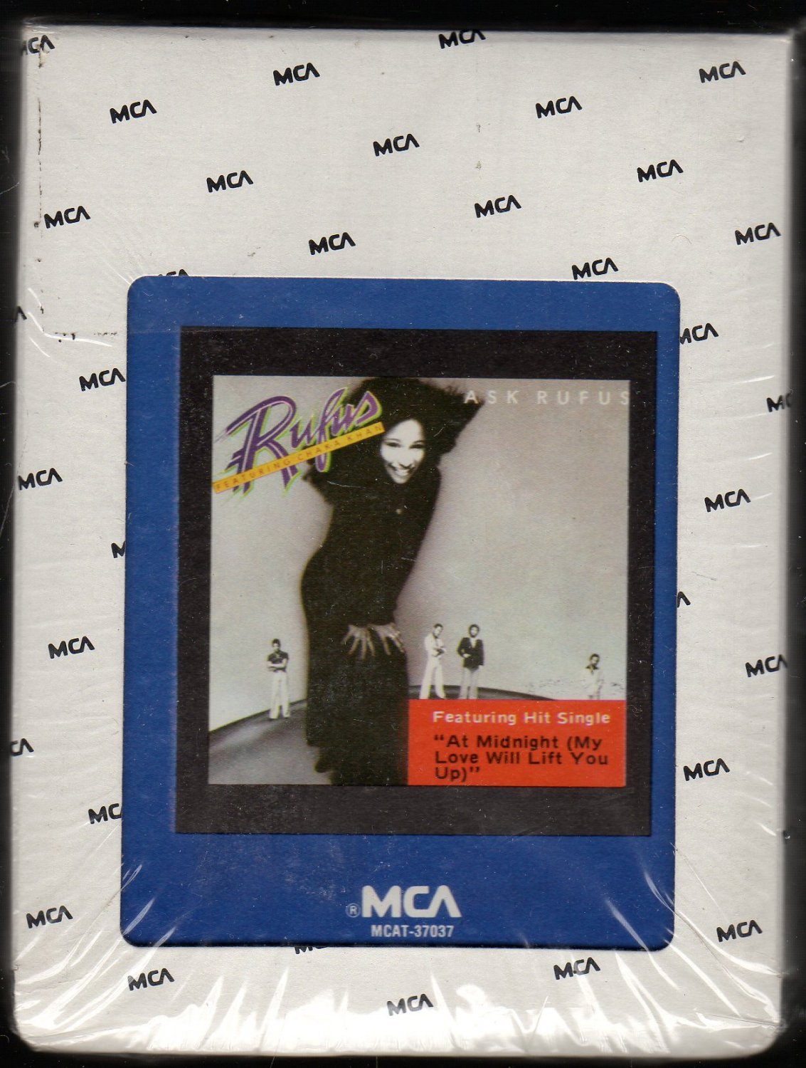 Rufus - Ask Rufus 1977 MCA Sealed A24 8-track tape