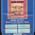 Gene Autry - Back In The Saddle Again GRT A24 8-track tape