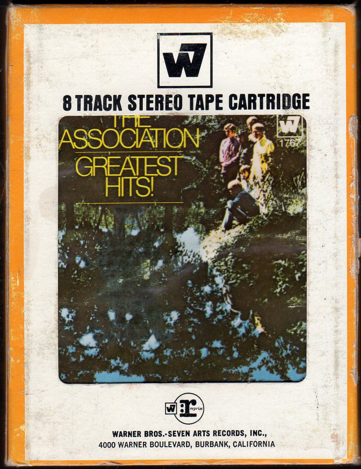 The Association - The Association's Greatest Hits 1968 WB A49 8-track tape