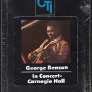 George Benson - In Concert Carnegie Hall 1976 CTI Sealed AC5 8-track tape