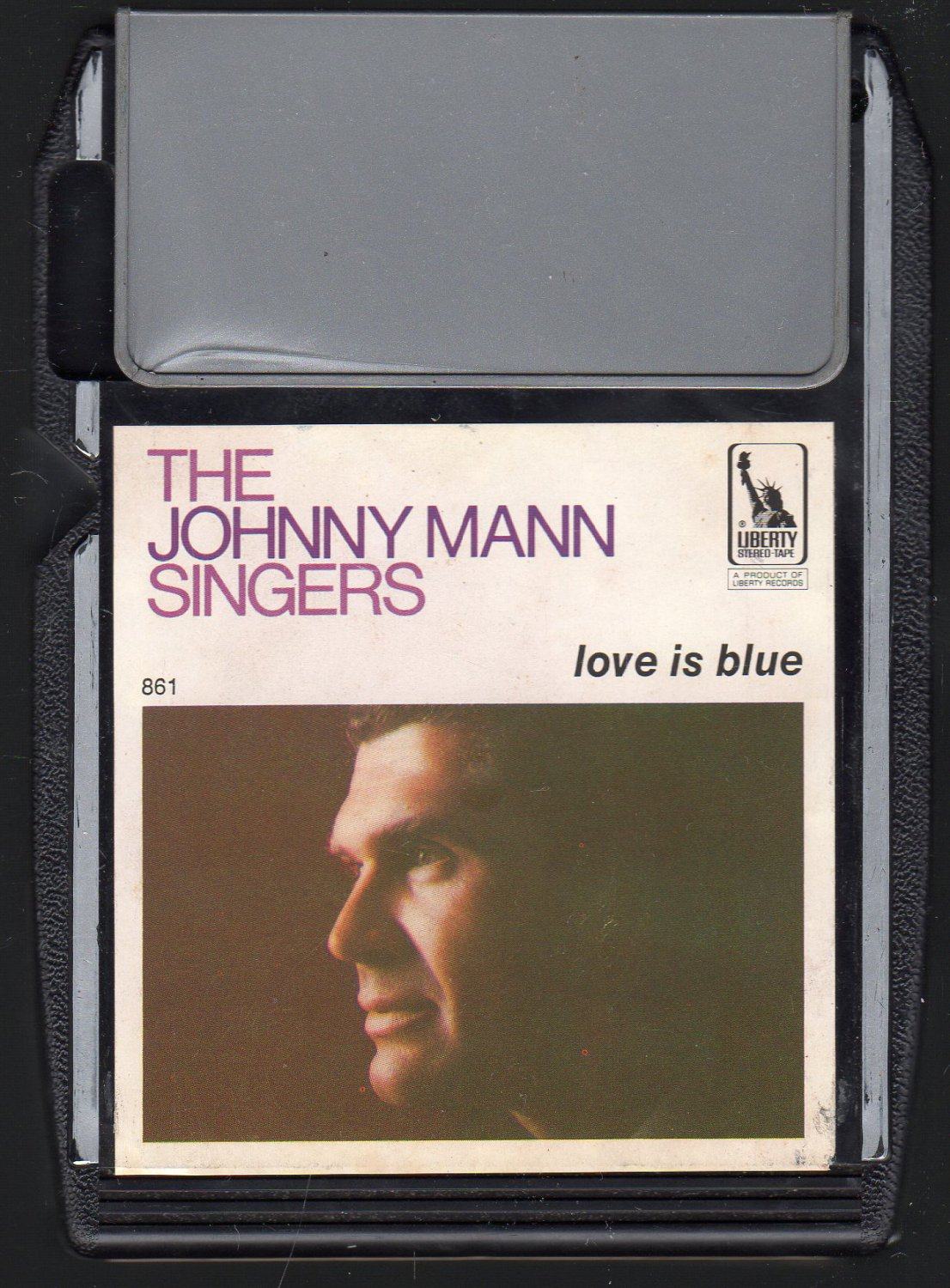 The Johnny Mann Singers - Love Is Blue 1968 LIBERTY A30 8-track tape