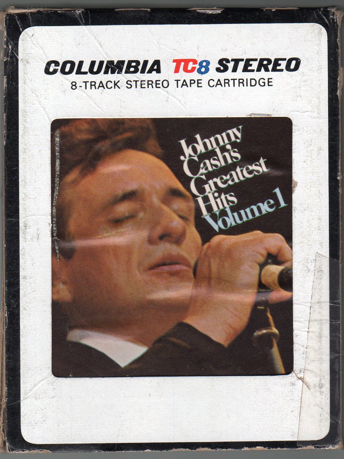 Johnny Cash - Johnny Cash's Greatest Hits Vol 1 1967 CBS TC8 SOLD 8-track tape