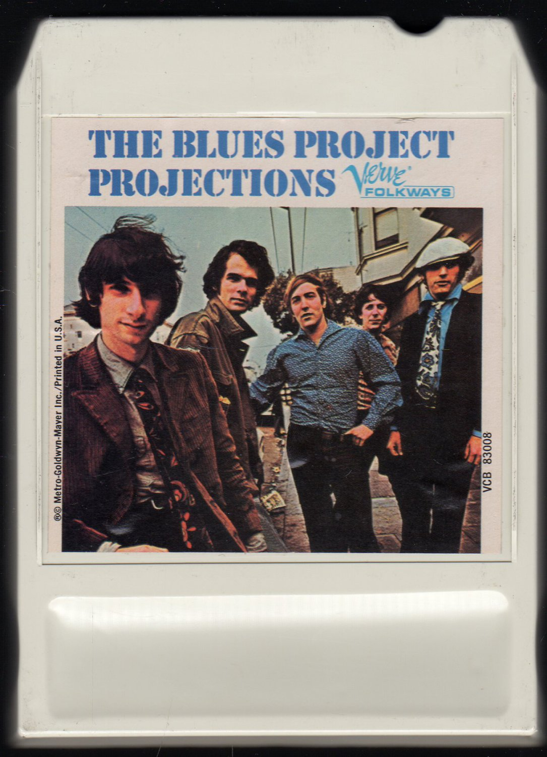 The Blues Project - Projections 1966 VERVE LEAR AMPEX AC5 8-track tape