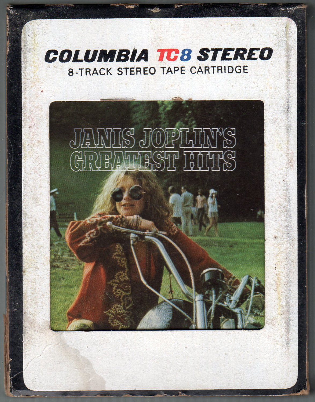 Janis Joplin - Greatest Hits 1973 CBS TC8 A51 8-track tape