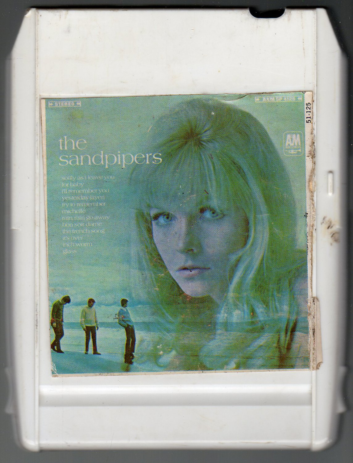 The Sandpipers - The Sandpipers 1967 A&M ITCC A50 8-track tape