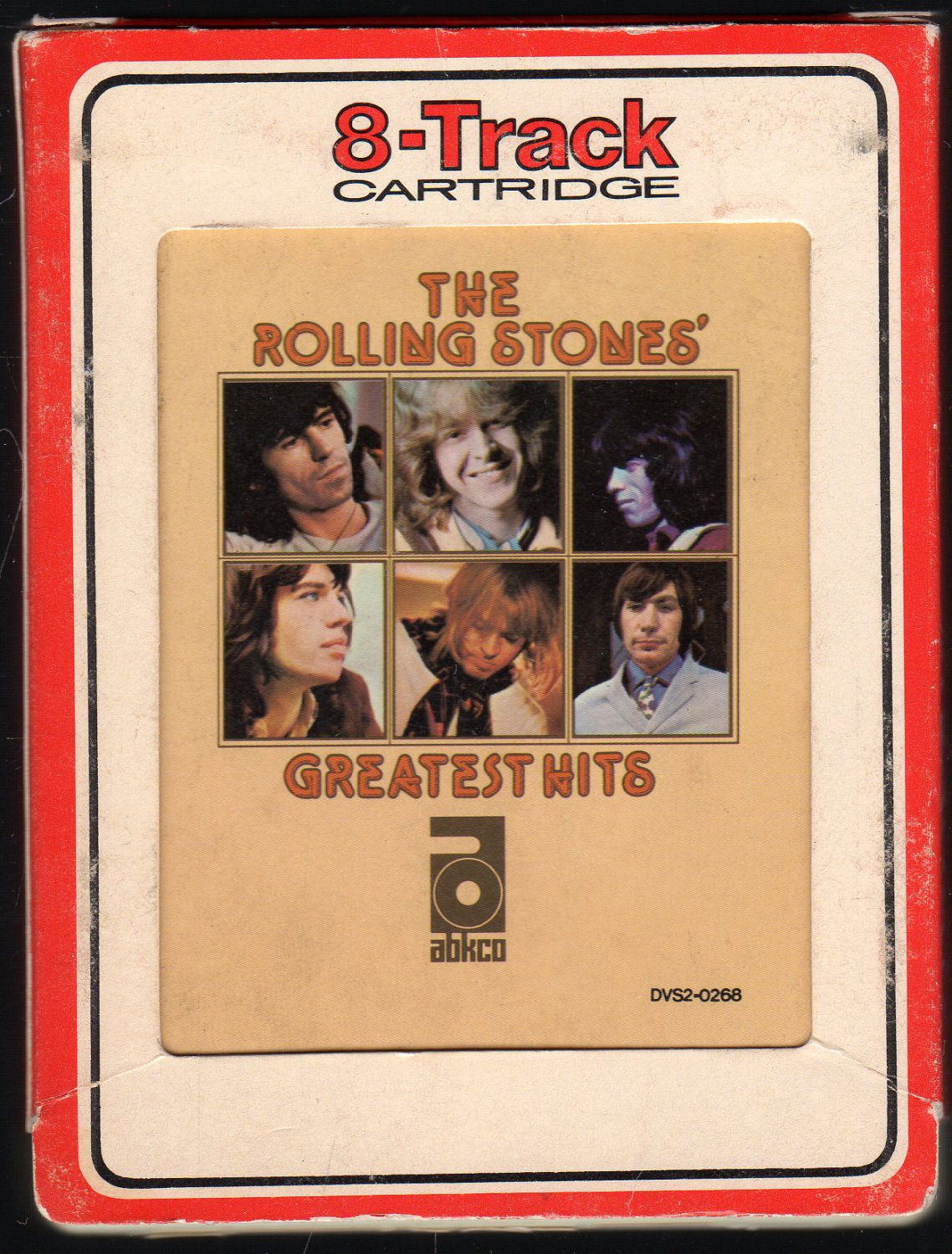 The Rolling Stones - 30 Greatest Hits 1977 RCA ABKCO AC1 8-track tape