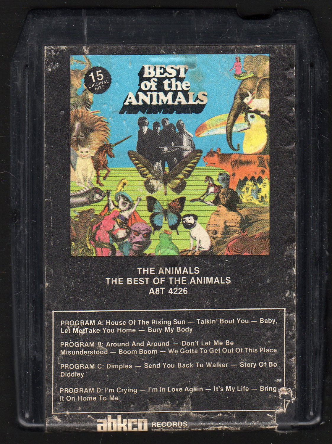 The Animals - Best Of The Animals 1973 ABKCO A50 8-track tape