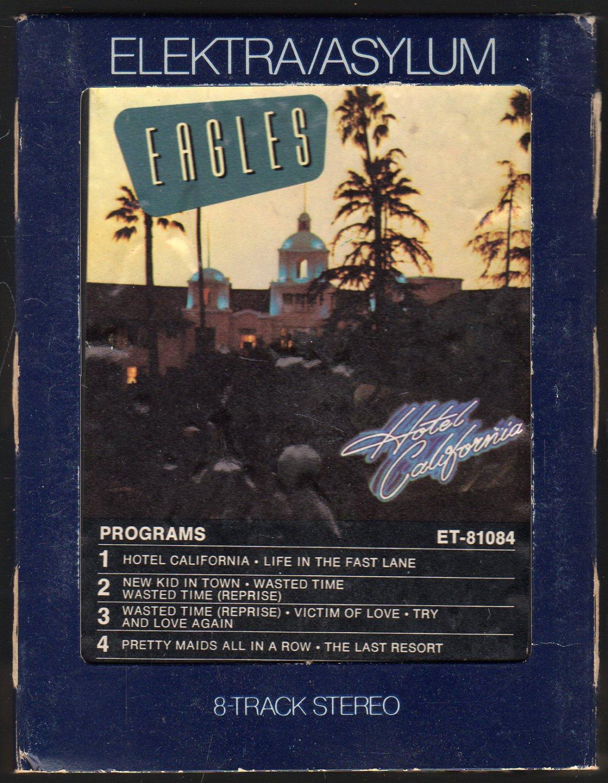 Eagles - Hotel California 1976 ELECTRA AC4 8-track tape