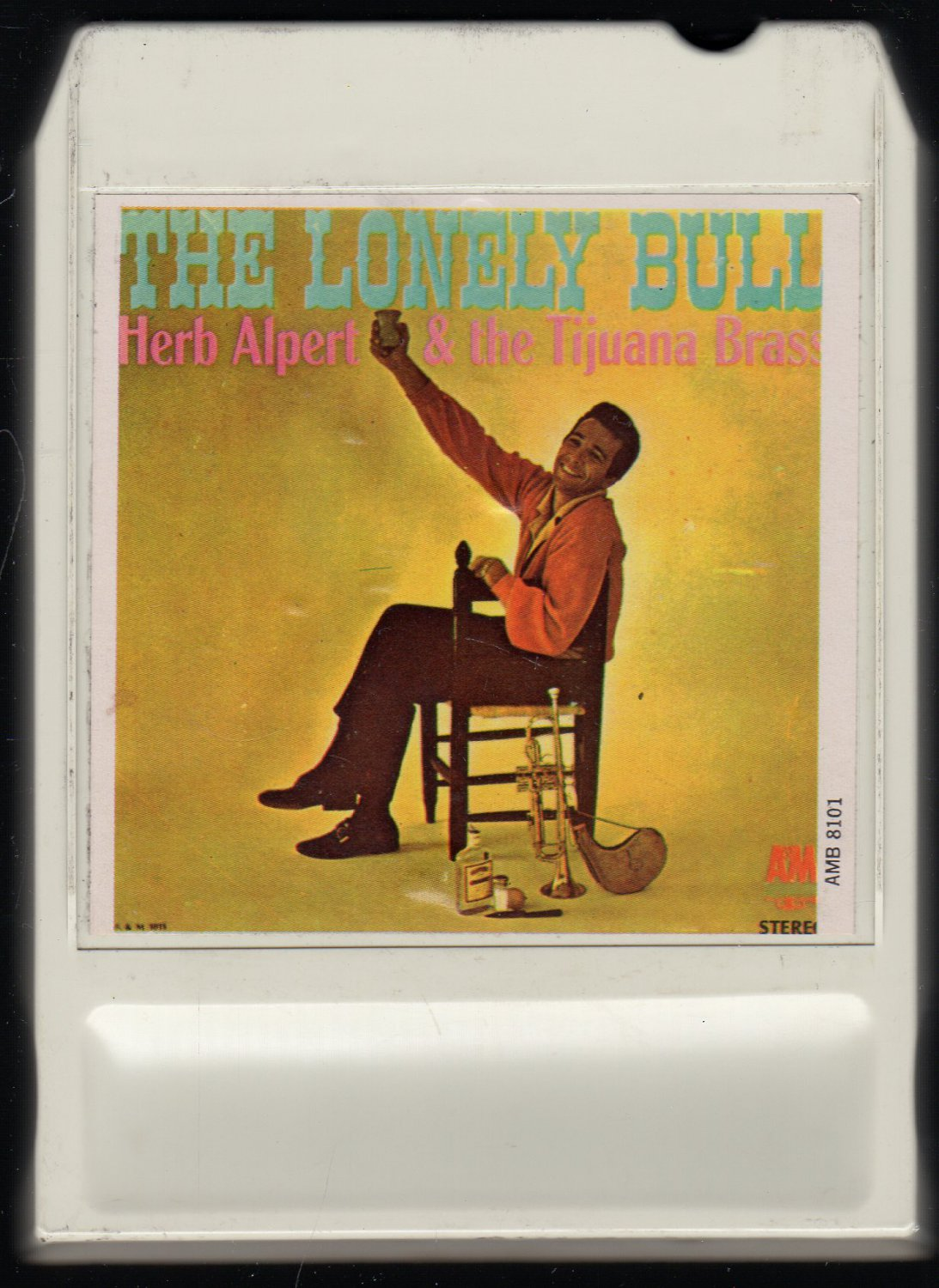 Herb Alpert & The Tijuana Brass - The Lonely Bull 1962 Debut A&M AMPEX LEAR A44 8-track tape