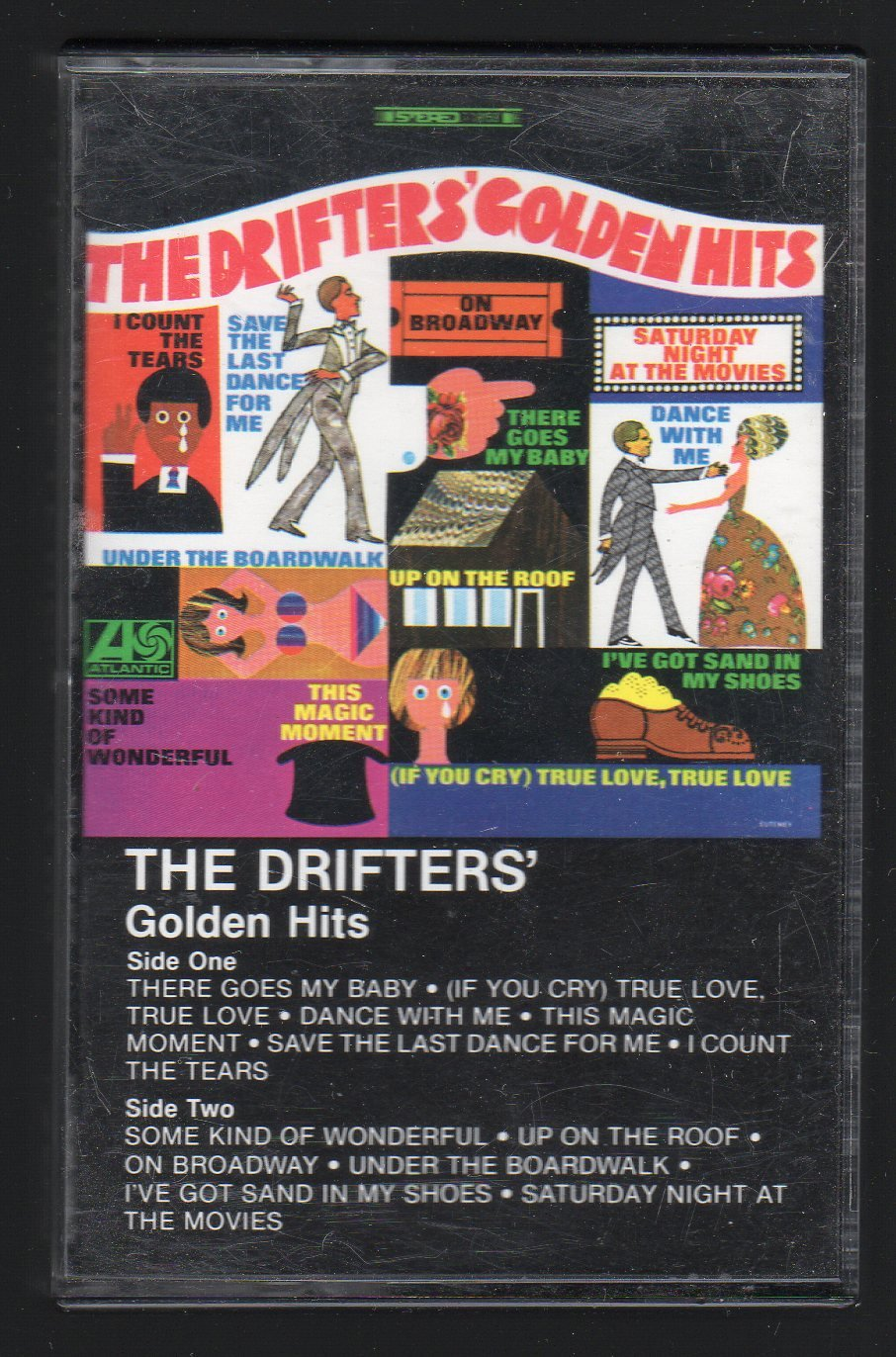 The Drifters - Golden Hits C4 Cassette Tape