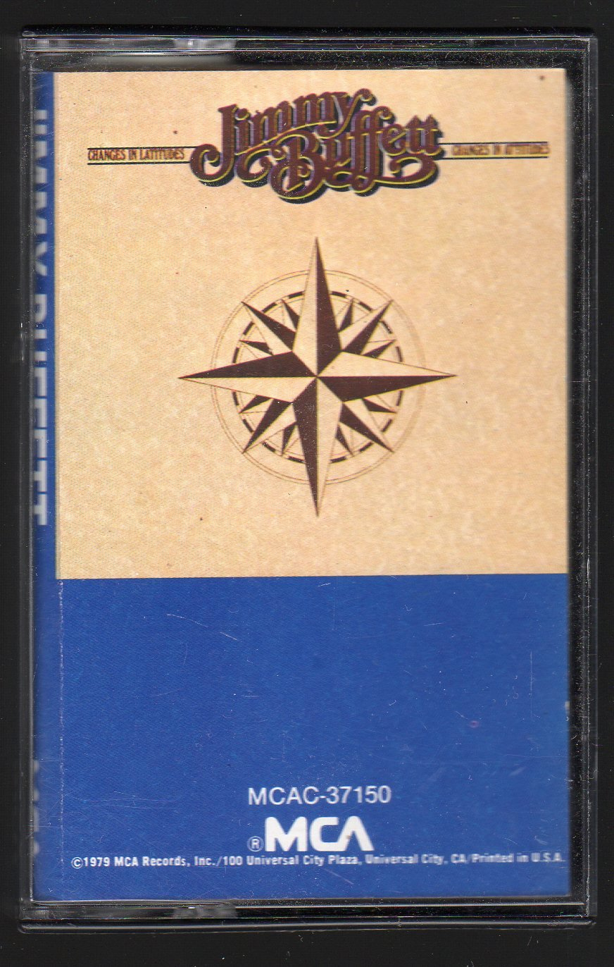 Jimmy Buffett - Changes In Latitudes C4 Cassette Tape