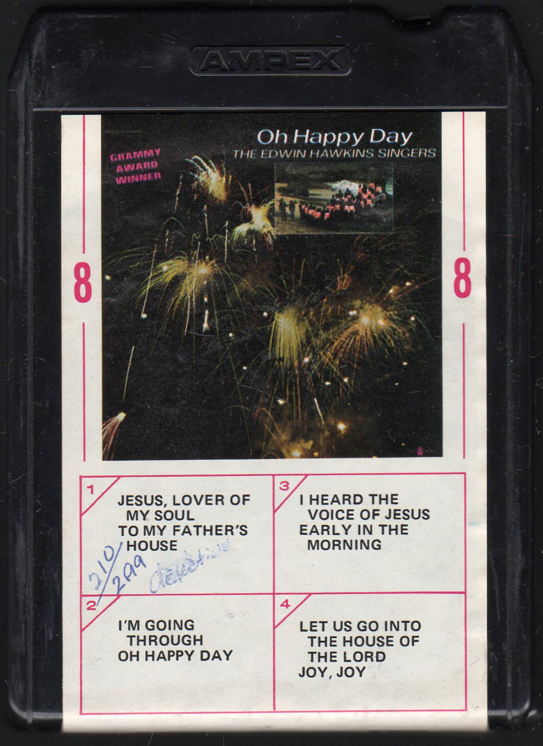 Edwin Hawkins Singers - Oh Happy Day 1968 AMPEX BUDDAH A36 8-track tape