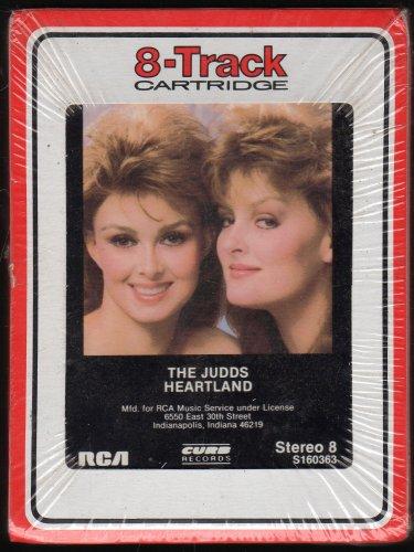 The Judds - Heartland 1987 RCA Sealed AC5 8-track tape