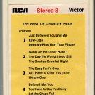 Charley Pride - The Best Of Charley Pride 1969 RCA AC4 8-track tape