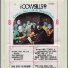 The Cowsills - Captain Sad and his Ship of Fools 1968 MGM AMPEX AC3 8-track tape