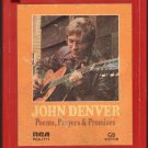 John Denver - Poem, Prayers And Promises 1971 RCA Quadraphonic AC1 8-track tape