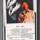 Sam Cooke - 20 Great Hits C3 Cassette Tape