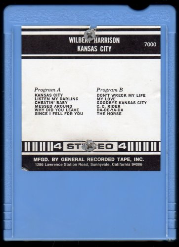 Wilbert Harrison - Kansas City AC1 4-track tape