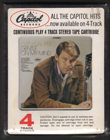 Glen Campbell - Gentle On My Mind 1967 CAPITOL Sealed AC4 4-track tape