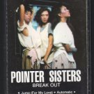 Pointer Sisters - Break Out C11 Cassette Tape