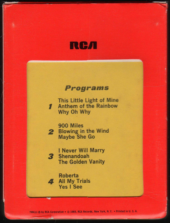 Odetta Holmes - Odetta Sings Folk Songs 1969 RCA AC1 8-track tape