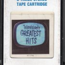 Television's Greatest Hits Vol 1 Part 1 - TV Themes From The 50's and 60's 1985 CRC AC3 8-track tape