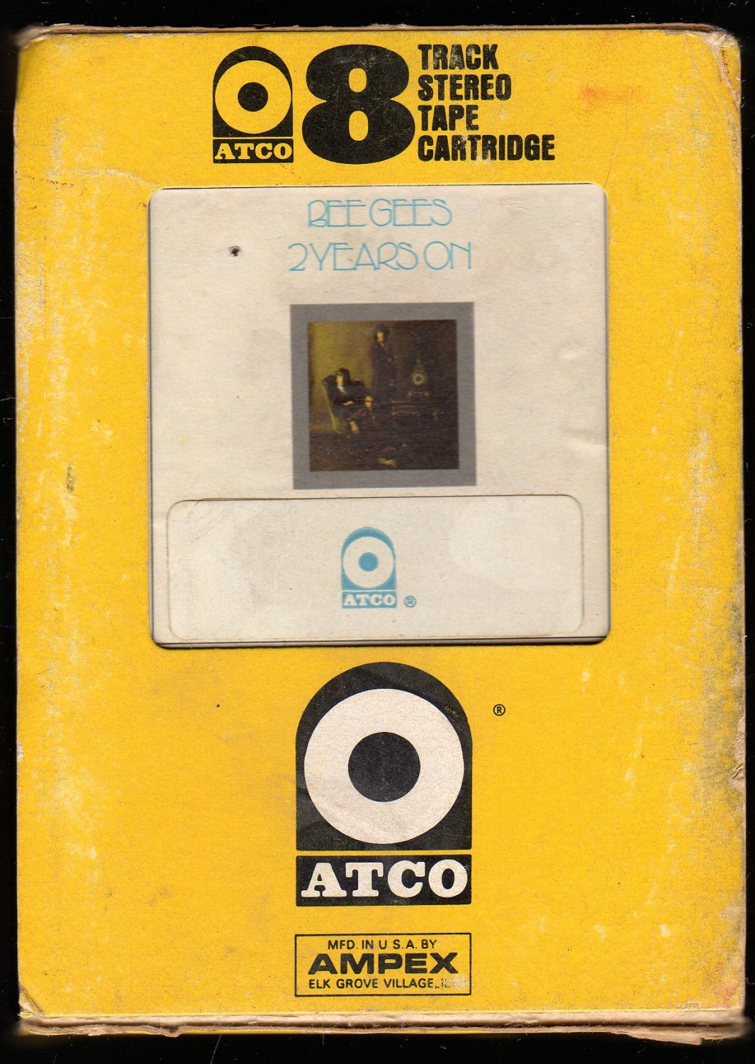 Bee Gees - Two Years On 1970 ATCO AMPEX A32 8-track tape