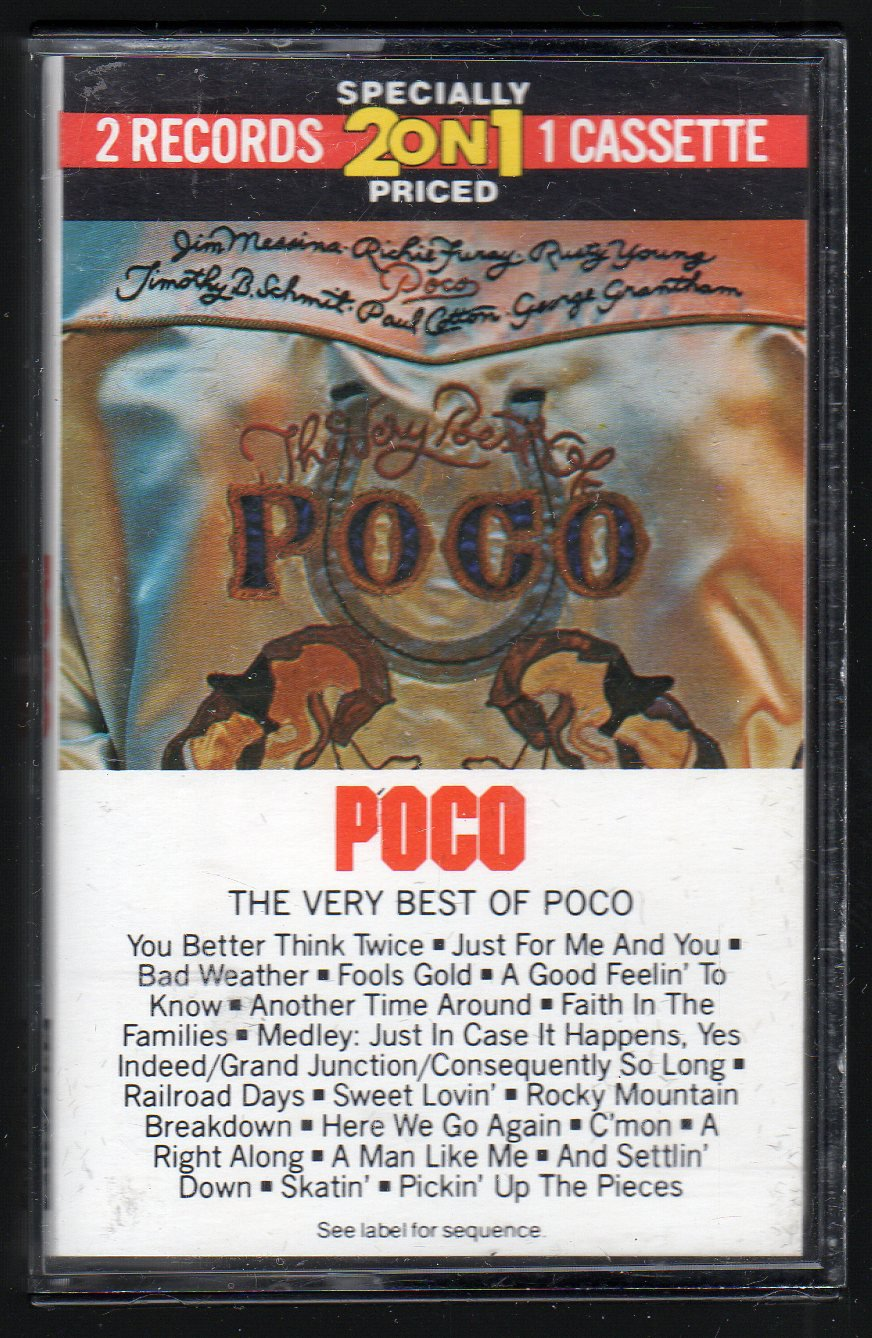 Poco - The Very Best Of Poco 1975 CBS EPIC C9 Cassette Tape