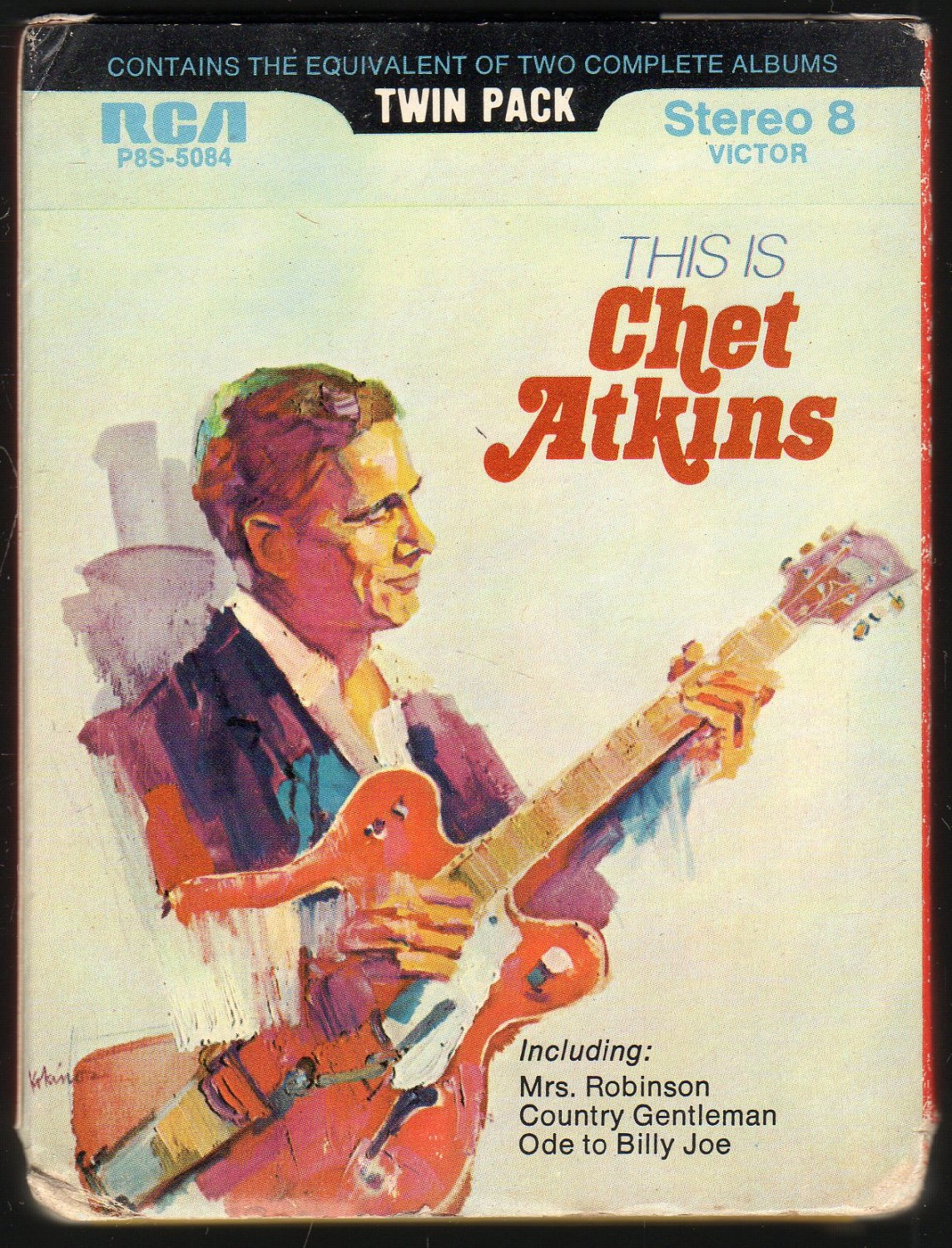 Chet Atkins - This Is Chet Atkins 1970 RCA AC2 8-track tape
