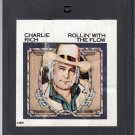 Charlie Rich - Rollin' With The Flow 1977 EPIC A17A 8-track tape