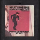 Marty Robbins - Gunfighter Ballads & Trail Songs 1959 CBS Re-issue A17A 8-track tape