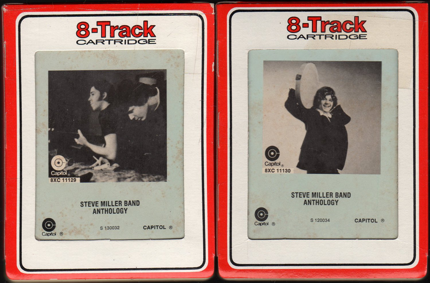Steve Miller Band - Complete Anthology  Tapes 1 & 2 1972 RCA CAPITOL 8-track tape