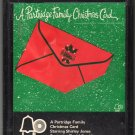 The Partridge Family - A Partridge Family Christmas Card 1971 AMPEX BELL A18F 8-track tape
