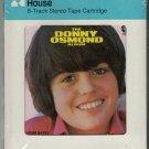 Donny Osmond - The Donny Osmond Album 1971 CRC MGM Sealed A18F 8-track tape