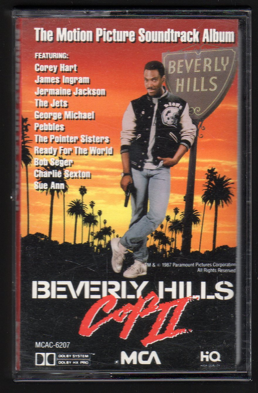 Beverly Hills Cop II - The Motion Picture Soundtrack 1987 MCA PROMO C9 Cassette Tape