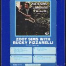 Zoot Sims - Zoot Sims with Bucky Pizzarelli 1976 GRT CLASSIC JAZZ A51 8-track tape