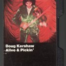 Doug Kershaw - Alive & Pickin' 1975 WB Hard Shell C12M Cassette Tape
