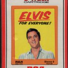 Elvis Presley - Elvis For Everyone! 1966 RCA Re-issue Sealed A45 8-track tape