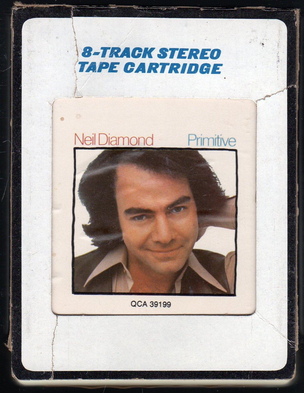 Neil Diamond - Primitive 1984 CRC A45 8-track tape
