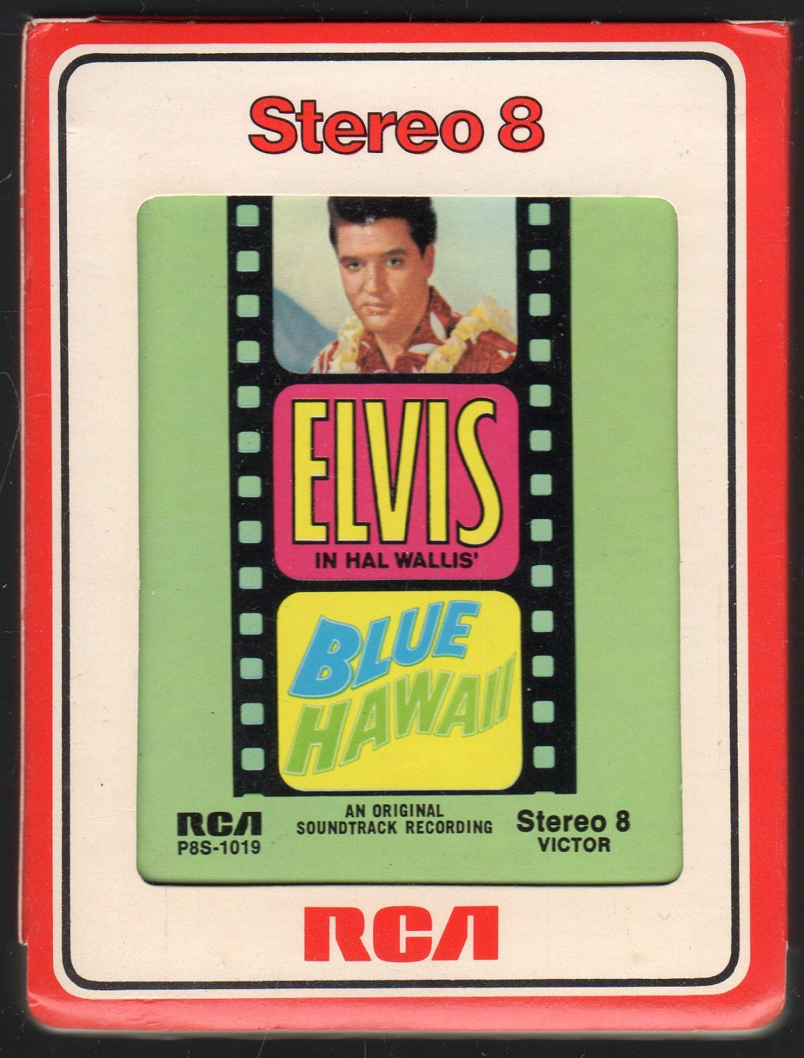 Elvis Presley - Blue Hawaii 1961 RCA 1972 Re-issue A11 8-track tape