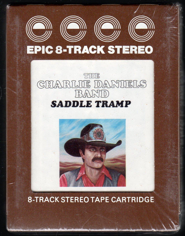 The Charlie Daniels Band - Saddle Tramp 1976 EPIC Sealed AC5 8-track tape