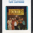 Exile - The Best Of Exile 1985 CRC T7 8-track tape