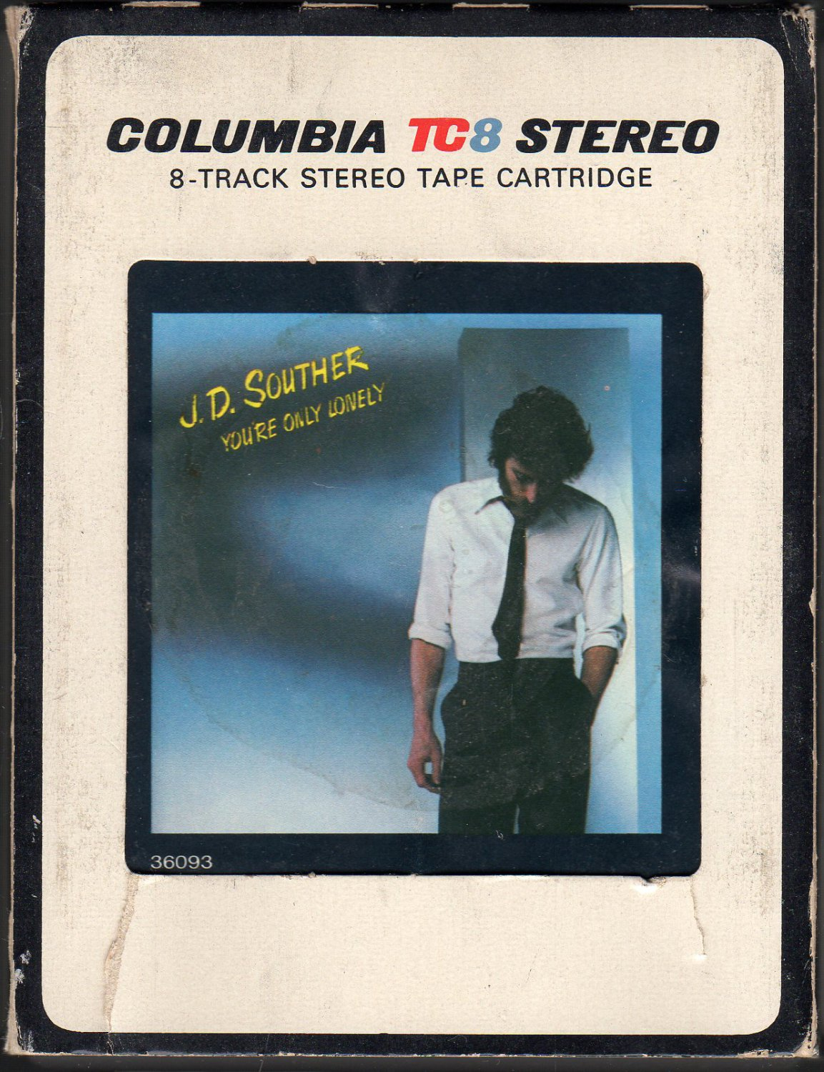 J.D. Souther - You're Only Lonely 1979 CBS A16 8-track tape