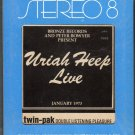 Uriah Heep - Live 1973 MERCURY A12X 8-track tape