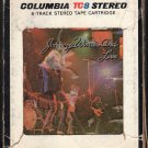 Johnny Winter - Johnny Winter And Live 1971 CBS A30Z 8-track tape