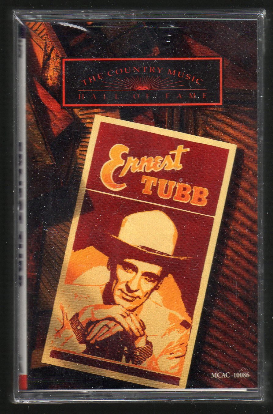 Ernest Tubb - Country Music Hall Of Fame Series 1991 MCA C15 Sealed Cassette Tape