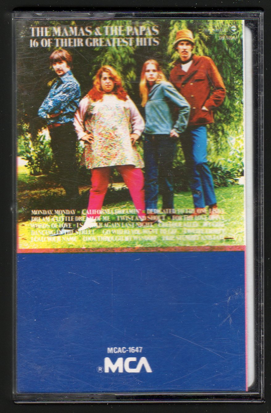 The Mamas And The Papas - 16 Of Their Greatest Hits C15 Cassette Tape