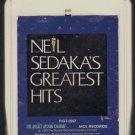 Neil Sedaka - Sedaka's Greatest Hits 1976 MCA A49 8-track tape