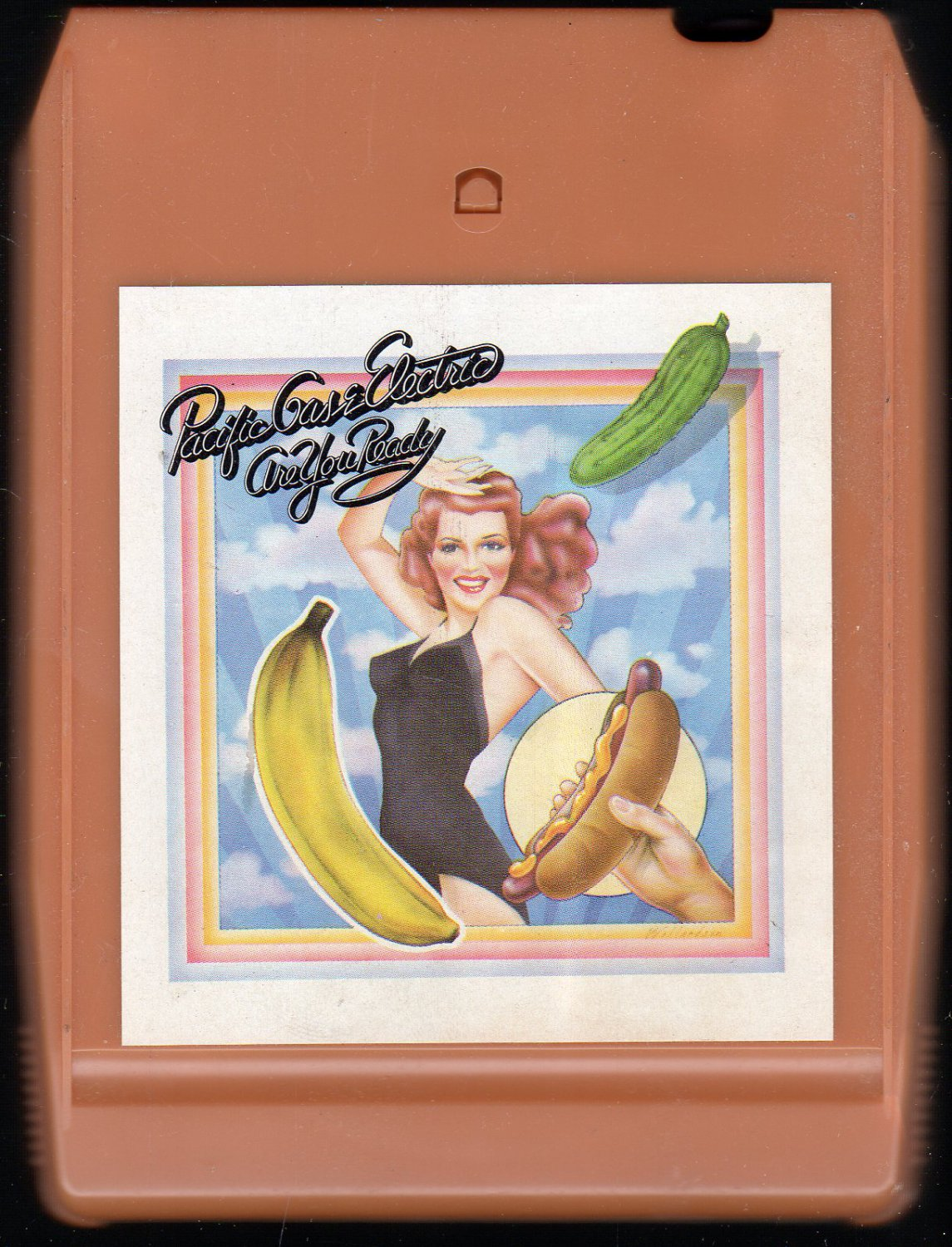 Pacific Gas & Electric - Are You Ready 1970 CBS A19A 8-track tape