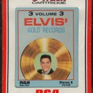 Elvis Presley - Elvis Gold Records Vol 3 1963 RCA Re-issue Sealed A40 8-track tape